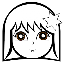 other girls face coloring pages girls coloring pages others