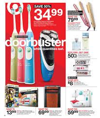sonicare toothbrush black friday target black friday 2015 ad leak julie u0027s freebies