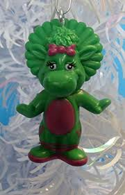 barney ornaments featuring 4 barney ornaments with