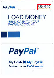 load paypal my cards to your paypal account