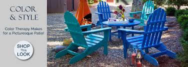 outdoor polywood furniture recycled plastic poly wood furniture