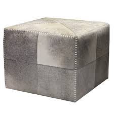 Leather Cube Ottoman Buy Cross Stitch Leather Cube Ottoman