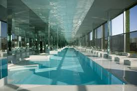 swimming pool cool indoor nuanced in beach spheres together