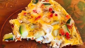 poivron cuisine omelette courgette oignon poivron recette par cuisine
