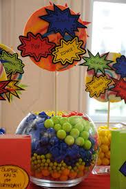 party ideas super hero picmia