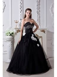 black and white quinceanera dresses black and white pretty quinceanera dress 2013 with flower img 1848