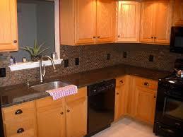 Kitchen Counter Tile Tan Brown Granite Kitchen Countertop Finished Installed Granix