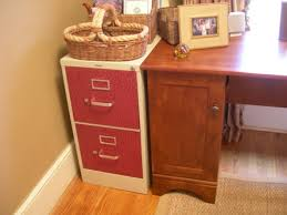 Orange Filing Cabinet Fabric Covered Filing Cabinets Cottage At The Crossroads