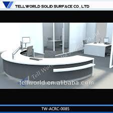 Semi Circular Reception Desk Factory Supply Semi Circle Front Desk Design For Sale Hotel