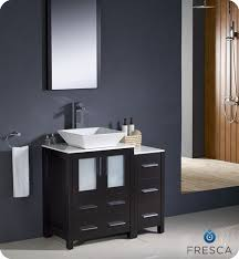 Bathroom Cabinets With Lights Fresca Torino 36