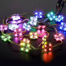 programmable module string lights