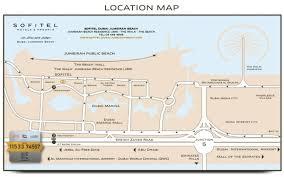 Metro Station Map In Dubai by Sofitel Dubai Jumeirah Beach Around The Hotel