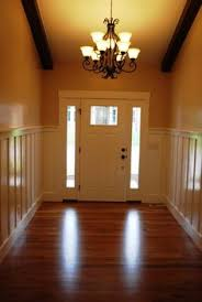 tile entryway by back door carpet has since been replaced with