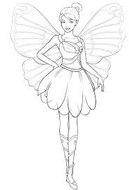 barbie a fairy secret coloring pages games via printable free of