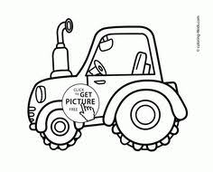 tractor coloring pages for kids printable tractor tom coloring