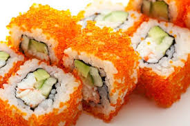 masago the gem of a sushi roll fish for sushi inc