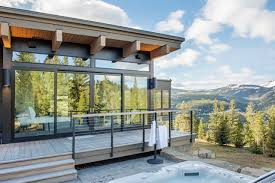 ski homes with walls of glass thanks to new technology wsj