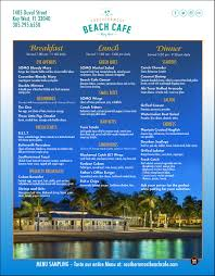 southernmost beach cafe menu key west u2013 best key west restaurant