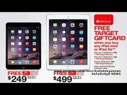 target gift card sale black friday target black friday 2014 ad leak shows ipad deals that include