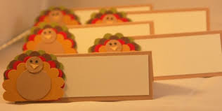 thanksgiving placecards turkey name plates with free shipping