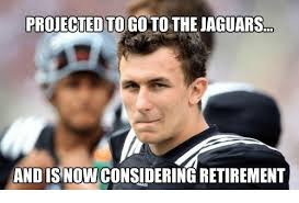 Retirement Meme - projected togoto the jaguars and is nowconsidering retirement meme