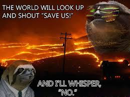 Sloth Whisper Meme - meme whisper jalapeno