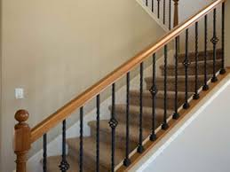 beautiful interior wood stair railing kits images amazing