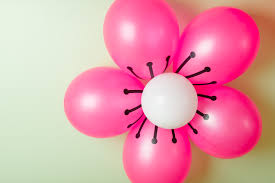 guest post cherry blossom balloon tutorial