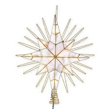 buy lighted tree toppers from bed bath beyond