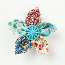 fabric flowers how to make a fabric flower brooch mollie makes