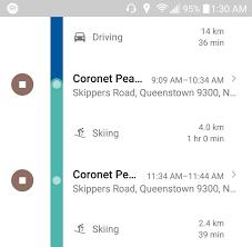 Google Maps Driving Google Maps Zeitachse Erkennt Jetzt Auch Ski Fahren Als