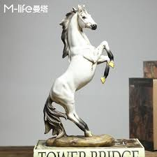 horse statue home decor creative resin horse figurines home decor crafts room decoration