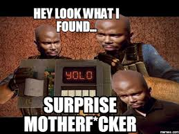 Suprise Mother Fucker Meme - eight 1 surprise mother f meme investingbb