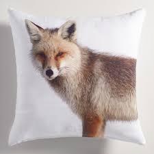 World Market Outdoor Pillows by Printed Fox Throw Pillow World Market