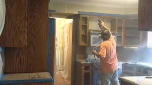 Kitchen Cabinet Refacing Michigan Kitchen Cabinets Refinishing At Timeless Arts Refinishing Grand