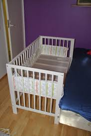 Bed Crib Attachment by Gulliver Baby Crib Meets An Engineer Ikea Hackers Ikea Hackers