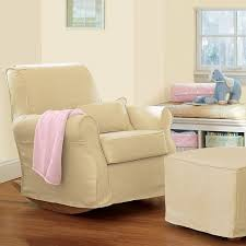 Comfy Rocking Chair For Nursery Pottery Barn Lullaby Rocker And Ottoman Furniture Wish List