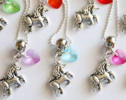 jewelry party favors unicorn party favor etsy