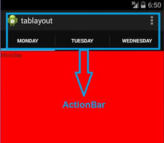 android toolbar tutorial android tab layout with swipe views tutorial exle