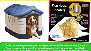 Dog Igloos Shop For The Best Dog House With Air Conditioner At Securepets Com