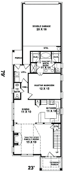 house plans for narrow lots with front garage best narrow lot house plans yuinoukin