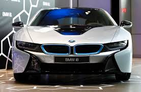 bmw hybrid sports car bmw i8 in hybrid sports car delivered 1 chinadaily com cn