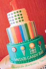 Kara U0027s Party Ideas Dylan U0027s Candy Bar Themed 1st Birthday Party