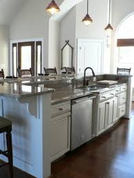 raised kitchen island raised bar kitchen island would be great with cabinets on barstool
