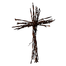 medium barbed wire cross undecorated cave creek designs