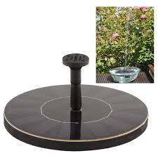 design for solar power water fountain ideas 24473