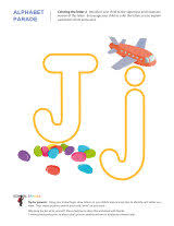 letter worksheets alphabet parade sparks
