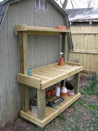 Free Outdoor Storage Bench Plans by 25 Best Potting Bench Plans Ideas On Pinterest Potting Station