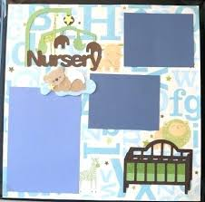 baby boy scrapbook album baby boy scrapbook paper album kit layouts newborn ideas
