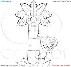 banana tree coloring page eliolera com